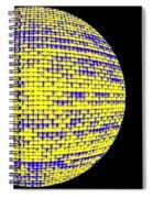 Screen Orb-13 Spiral Notebook