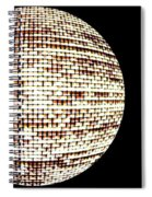 Screen Orb-19 Spiral Notebook