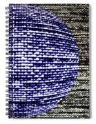 Screen Orb-23 Spiral Notebook