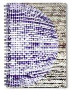 Screen Orb-24 Spiral Notebook
