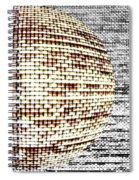 Screen Orb-29 Spiral Notebook