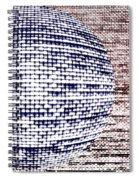 Screen Orb-33 Spiral Notebook