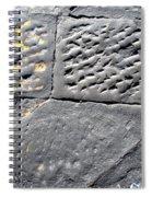 Screwed Between Stones Of Firenze Spiral Notebook