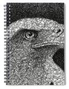Scribble Eagle Spiral Notebook