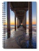 Scripps Pier #1 Spiral Notebook