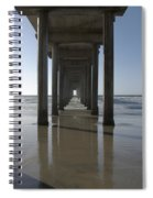 Scripps Pierla Jolla California Spiral Notebook