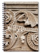 Scroll Of Stone Spiral Notebook