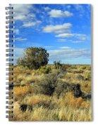 Scrubland Spiral Notebook