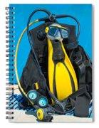 Scuba Gear 2 Spiral Notebook