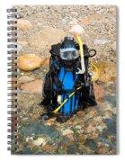 Scuba Gear Spiral Notebook