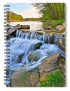 Sculpted Falls Spiral Notebook