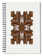 Sculpted Mandala Yantra Spiral Notebook