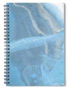 Sculpting A Blue Streak Spiral Notebook