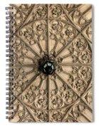 Sculptured Ceiling 1 Spiral Notebook