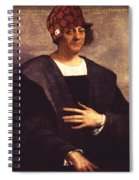 Scumbag Columbus Spiral Notebook