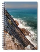 Sea And Cliff Spiral Notebook