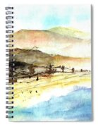 Sea And Mountains Spiral Notebook
