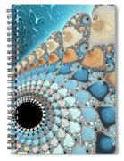 Sea And Sand Spiral Notebook