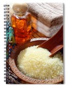 Sea Bath Salts Spiral Notebook