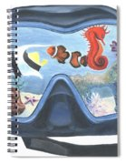 Sea Beneath The Surface Spiral Notebook