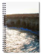 Sea Caves Spiral Notebook