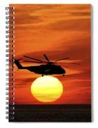 Sea Dragon Sunset Spiral Notebook