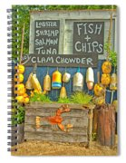 Sea Food Spiral Notebook