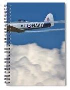 Sea Fury Stripes Spiral Notebook