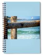 Sea Gate Spiral Notebook