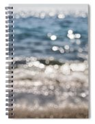Sea Glitter Spiral Notebook