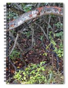 Sea Grape Jungle Spiral Notebook