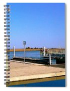Sea Gulls Watching Over The Wetlands Spiral Notebook