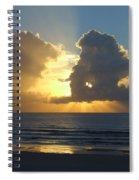Sea Island Sun Rays Spiral Notebook