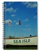 Sea Isle City Spiral Notebook