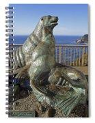 Sea Lion Caves - Oregon Spiral Notebook
