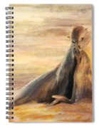 Sea Lion Mom And Pup Love On Galapagos Island Spiral Notebook