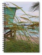Sea Oats And The Tower Spiral Notebook