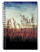 Sea Oats At Sunrise Spiral Notebook