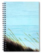 Sea Oats In The Wind Drawing Spiral Notebook