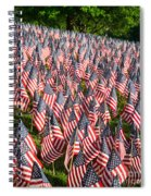 Sea Of Flags Spiral Notebook