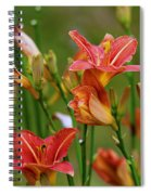 Sea Of Lilies Spiral Notebook
