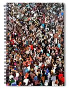 Sea Of People Spiral Notebook