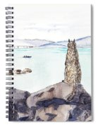 Sea Squirrel Spiral Notebook