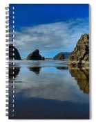 Sea Stack Blues Spiral Notebook