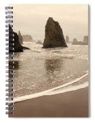 Sea Stacks At Bandon 2 Spiral Notebook