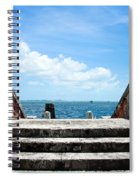 Sea Stairs Spiral Notebook