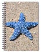 Sea Star - Light Blue Spiral Notebook