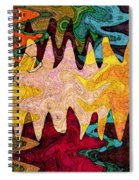 Sea Star Parade Spiral Notebook