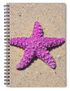 Sea Star - Pink Spiral Notebook