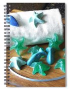 Sea Stars Mini Soap Spiral Notebook